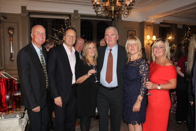 Claire House Christmas Wine and canapes party