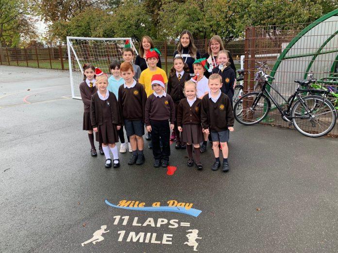 Gayton Primary marathons