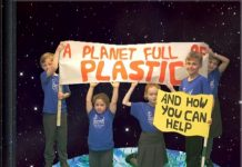 heswall primary planet full of plastic