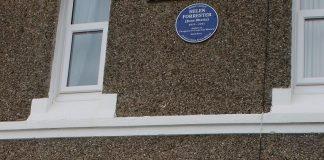 Helen Forrester Blue plaque