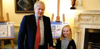 Upton primary school boris johnson