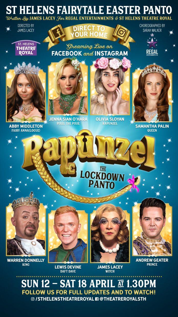 Rapunzel pantomine